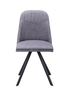 Jimmy Dining Chair in Dark Grey - Set of 2 by Moe's Home