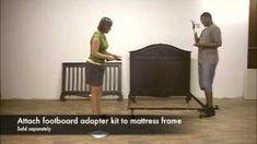 Bratt Decor Chelsea Lifetime Crib to Full Bed Conversion Convertible Crib, Full Bed, Crib Bedding, Bed Frame, Baby Room, Cribs, Conversation, Chelsea, Toddler Bed