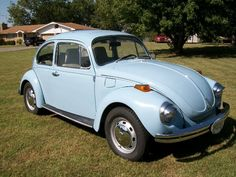 1972 Volkswagen Beetle - We had one just like this except for the shields over the headlights.