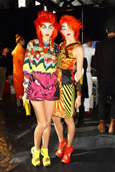 Sonny Vandevelde's Australian fashion week photo diary.