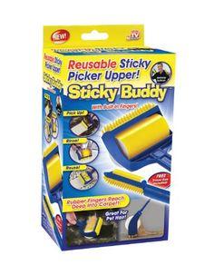 Sticky Buddy (www.StickyBuddy.com) from TeleBrands is the #1 Sticky Roller in the United States.  (PRNewsFoto/TeleBrands)