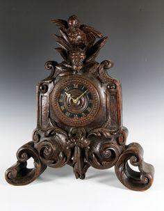 Mid 19th C. German Black Forest Clock : Lot 3038