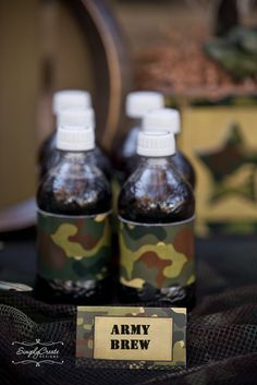 Army/Camouflage Birthday Party Ideas   Photo 2 of 21   Catch My Party