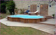 Above Ground Pool Designs Decks   Home Design Ideas