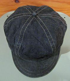 RRL Pinstripe Workcap