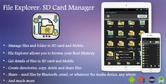 awesome File Explorer: SD Card Manager with AdMob Interstitial &amp Banner ( Eclipse or Android Studio) (Utilities)