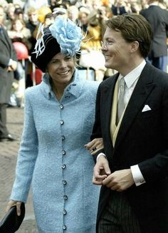 Prince constantine and his wife princess laurentin