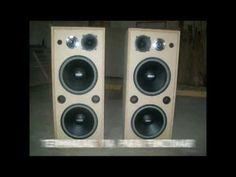 fabricacion de cajas de sonido.