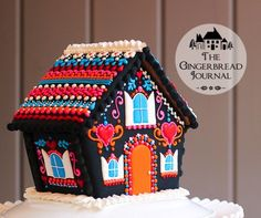 gingerbread house Day of the Dead-2-www.gingerbreadjournal.com-1