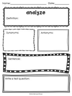 FREE SAMPLE ALERT - Common Core Critical Verbs Instruction Pack