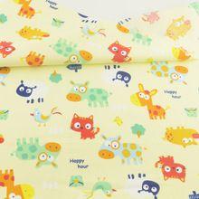 Bedding Decoration Tissue Quilting Home Textile Sewing Cloth Animal Print Cotton Fabric Tecido Patchwork Craft Teramila Fabrics(China (Mainland))