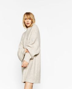 Image 5 of BRIOCHE STITCH DRESS from Zara