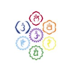 7 Chakras in a Circle. Tattoo idea, perhaps?