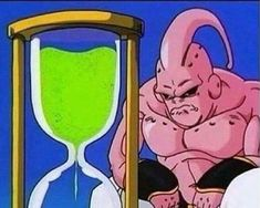 Dragon Ball Fighterz players waiting for a match during the open beta (colorized 2018)