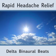 http://www.youtube.com/watch?v=ItqDZGooU2Q New Session now up on youtube and available for free download from free binaural beats.  This Binaural Beat session uses frequencies geared specifically for instant headache relief. Put it to the test ~ Your feedback is appreciated. Download Free high quality mp3 @: http://free-binaural-beats.com/rapid-headache-relief-delta-binaural-beats/
