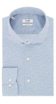 Shirt Blue Elmaro - Van Gils herenmode