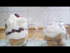 (노오븐  디저트)산딸기  디저트  만들기 1!/Raspberry   dessert   Recipe 1!(2배속   편집 ) - YouTube