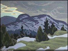 Snow Clouds by Edwin Holgate