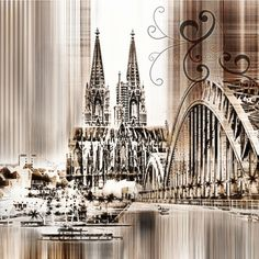 'Köln Skyline Collage'