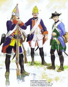 Hessian Uniforms