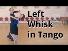 Line Figures in Tango - Left Whisk and Outside Spin | Dance Routine - YouTube