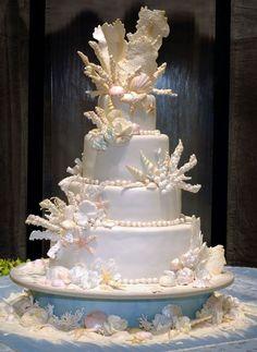 nautical wedding cakes - Google Search