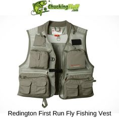 Best Vest for Fly Fishing 2020 - Buyers Guide and Comparison - Redington First Run Fly Fishing Vest - Fly Fishing Gear, Fishing Knots, Fishing Life, Sport Fishing, Women Fishing, Fishing Tackle, Walleye Fishing, Carp Fishing, Ice Fishing