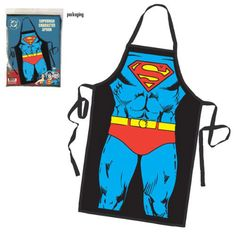 Delantal Superman. Traje