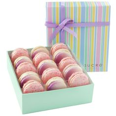 Spoil her rotten with these scrumptious Macarons hand crafted from one of America's top 10 pastry chefs! Mother's Day Macarons ~ 15 Piece Collection http://www.kkgivingtree.com/gourmet-delights/view-by-brand/sucre/mother-s-day-macarons-15-piece-collection