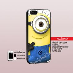 Despicabel Me Menion  - Print On Hard Cover - iPhone 4/4S Case and iPhone 5 Case - Samsung Galaxy S3 i9300 / S4 i9500
