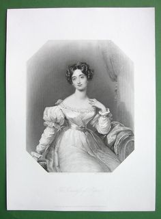 Queen Victoria Court Beauty Countess of Ripon