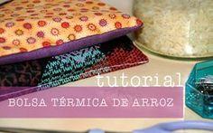 Aprende a hacer una bolsa de arroz o saco térmico para calentar la cama de tus hijos o la tuya propia. Heat Band, Sunglasses Case, Diy And Crafts, Sewing Projects, Ideas, Microwaves, Rice Bags, How To Make Pillows, Make Pillows
