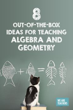 8 Out-of-the-Box Ideas for Algebra and Geometry Lessons in General Out -… - Bildung Algebra Projects, Algebra Activities, High School Activities, Maths Algebra, Math Games, Math Fractions, Math Resources, Geometry Activities, Math Strategies