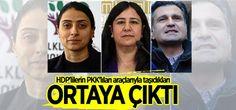 HDP'lilerin PKK'lıları araçlarıyla taşıdıkları ortaya çıktı