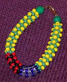 Ilde Santeria, bracelet Orula Eleggua by AFROFUSION on Etsy