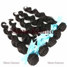 Natural Wave 100% Virgin Brazilian. Comes in natural dark brown. Easy to maintain.