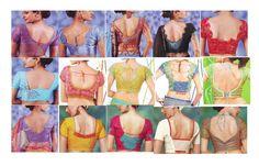 gujarati saree blouse designs catalogue - Google Search