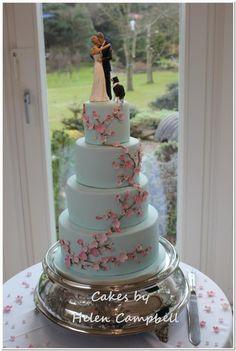 Great Personalized Wedding Cake Toppers Tall Cheap Wedding Cakes Square Square Wedding Cakes 5 Tier Wedding Cake Youthful Best Wedding Cake Recipe OrangeWedding Cake Cutter Cherry Blossom Wedding Cake   My Dream Wedding   Pinterest ..