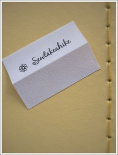 Easiest Tutorial for Fabric Labels I have seen....I loved making mine with these clear steps