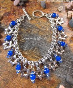 Hey, I found this really awesome Etsy listing at https://www.etsy.com/listing/249803093/star-of-david-bracelet-star-of-david