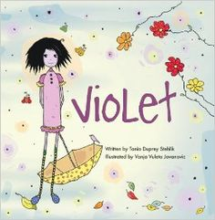 Violet by Tania Duprey Stehlik- a story about biracial children or children who may feel different in any way
