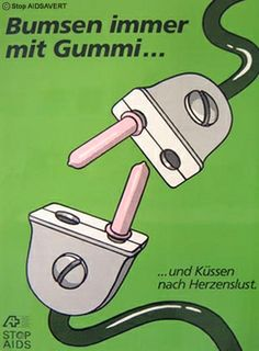 Germans always have funny pregnancy prevention adds.
