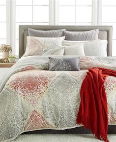 Kelly Ripa Home Kensington 10-Piece Comforter Sets, Only at Macy's - Bed in a Bag - Bed & Bath - Macy's