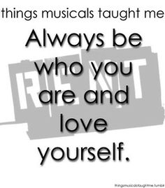 Rent ~ Things Musicals Taught Me, ~ ☮ Broadway Musical Quotes ☮ Good lesson from Rent. Really should have watched more Broadway with my Ex. Musical Theatre Quotes, Broadway Quotes, Music Theater, Broadway Theatre, Broadway Shows, Rent Musical, Theatre Nerds, Quotes To Live By, Life Quotes