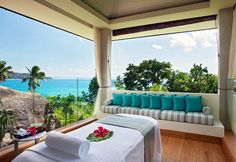 Spas With a View: Raffles Spa, Praslin Island, Seychelles