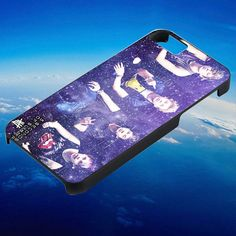 5 second of summer 5 SOS galaxy nebula purple for iPhone, iPod, Samsung Galaxy, HTC One, Nexus **