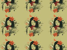"""Vintage Girl!"" by Julieth_San"
