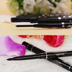 Nueva moda de la alta calidad de larga duración negro Waterproof Eyeliner lápiz de sombra de ojos don Natural maquillaje cosmético para mujeres