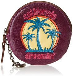 The Sak Iris Coin Purse, Palms, One Size -- See this great product. Coin Purse Wallet, Season Colors, Palms, Peace And Love, Iris, Detail, Wallets, Stuff To Buy, Image Link