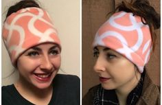 Free pattern: Fleece messy bun hat